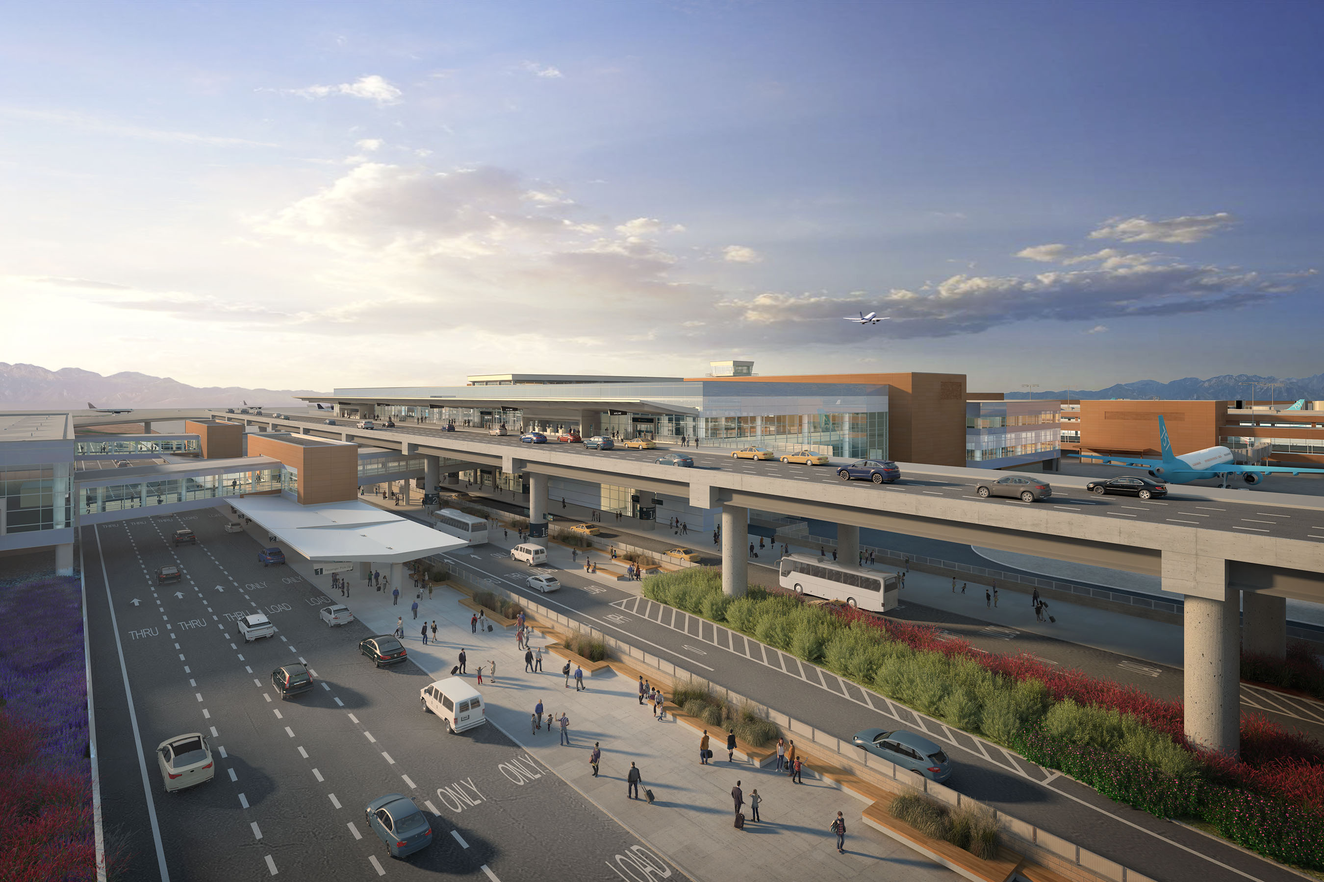 Renderings And Images 187 Salt Lake International Airport