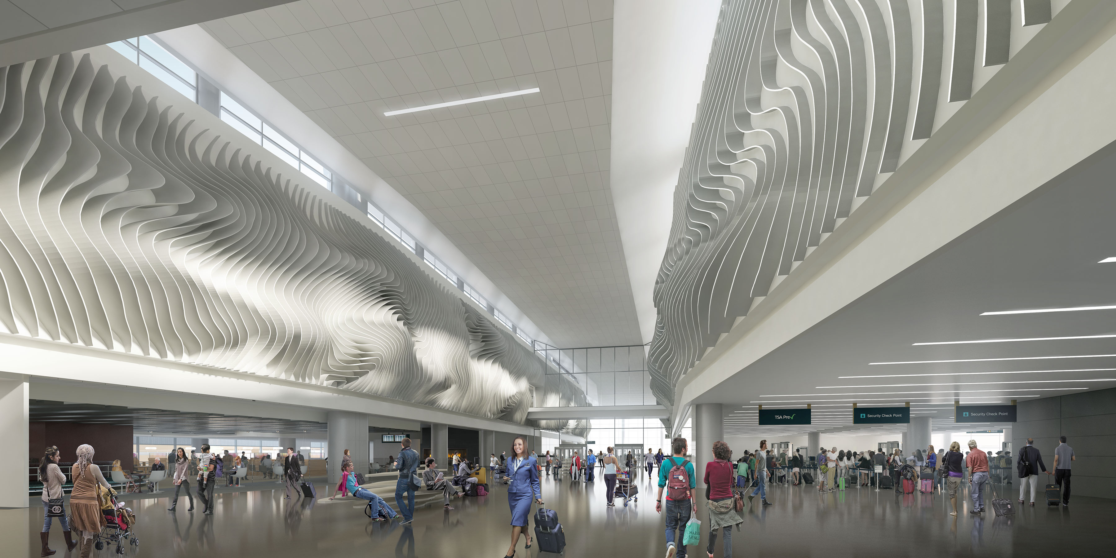 Home Interior Design Plans Renderings And Images 187 Salt Lake International Airport