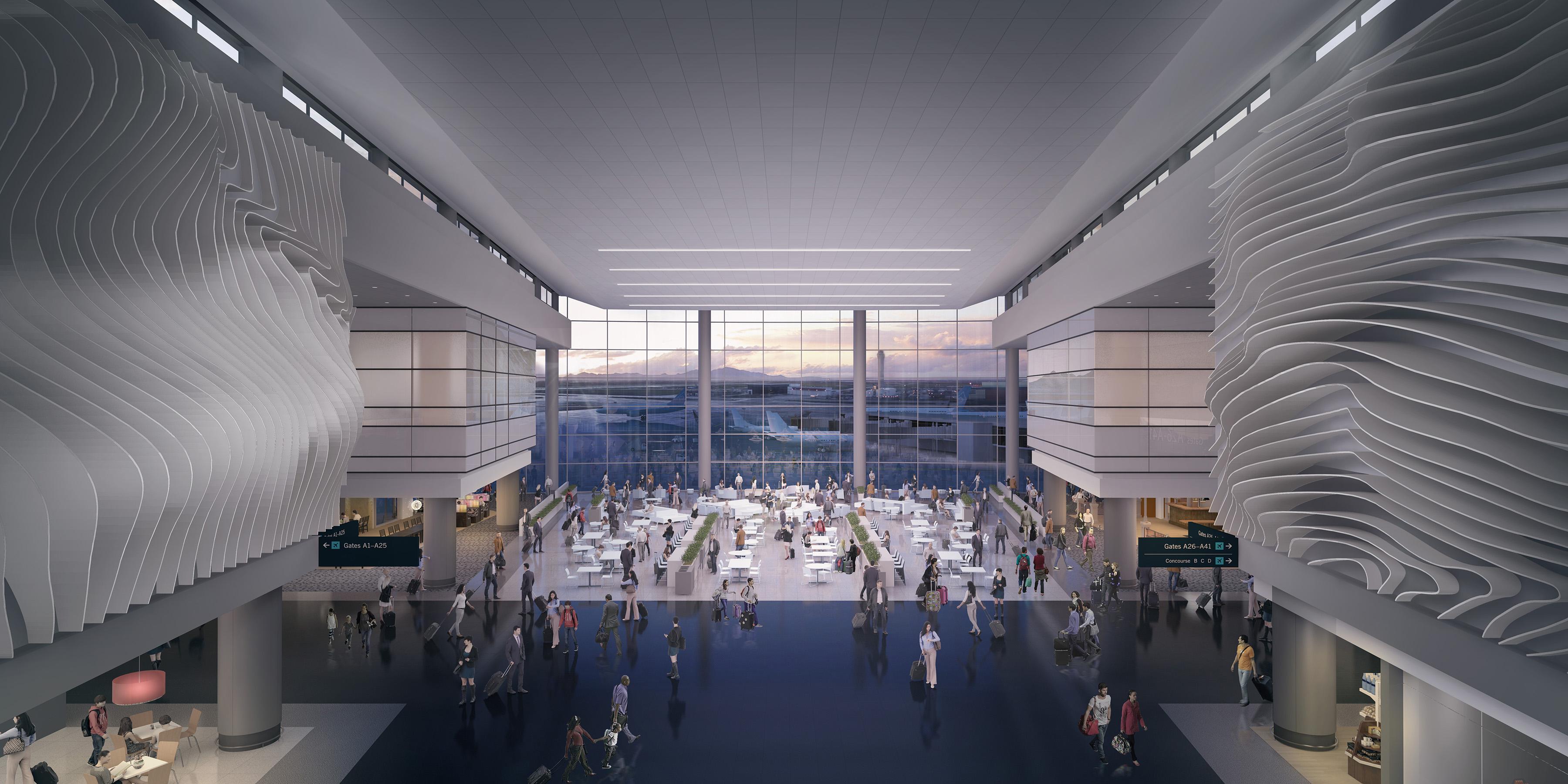 Image result for new salt lake airport design