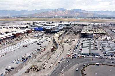 Construction Updates 187 Salt Lake International Airport