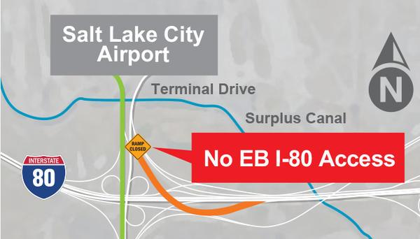 salt lake city airport zip code map