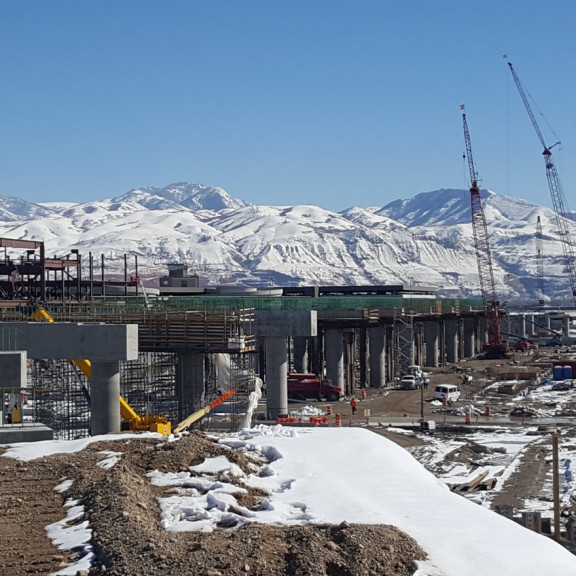 Elevated roadway bents March 2018