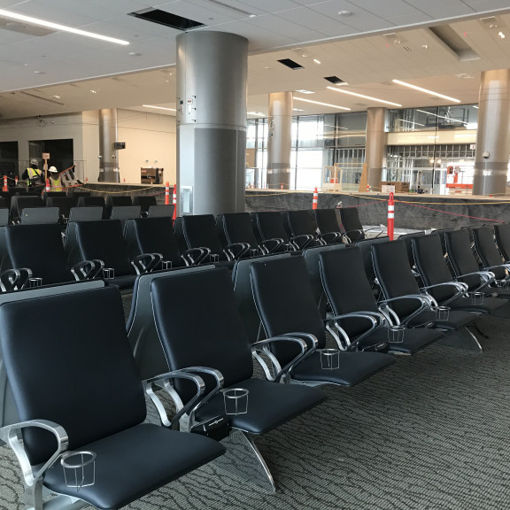 Seating at Gate A24 December 5 2019