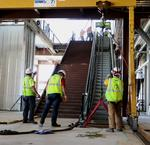 Escalator installation May 16 2018