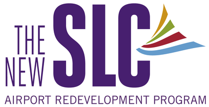 The New SLC Logo airport