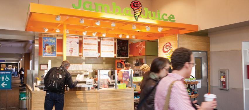 Jamba Juice Salt Lake International Airport