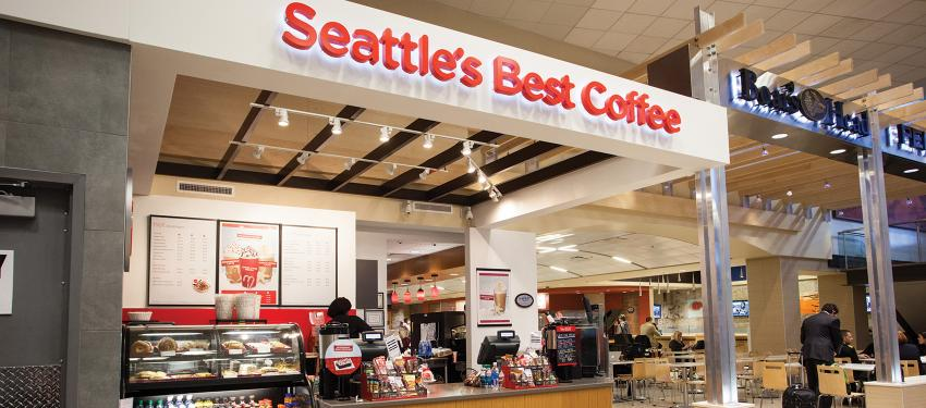 seattle 39 s best coffee salt lake international airport
