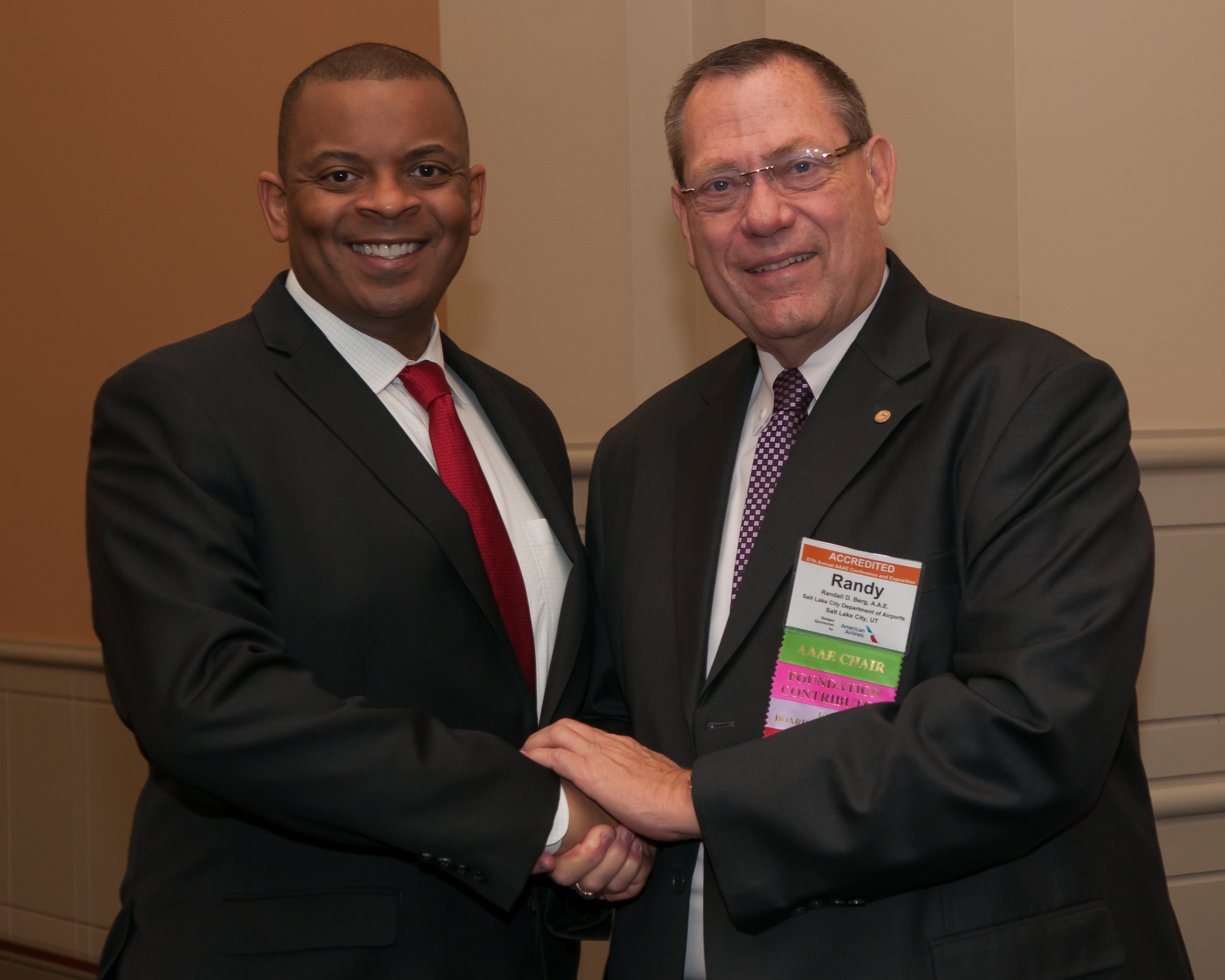 Randy and Secretary Foxx